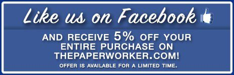 Become a Fan and Save on PaperWorker!